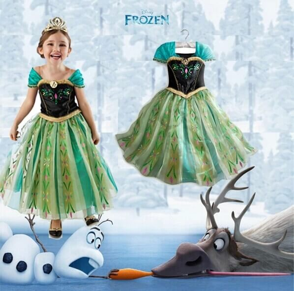 Kids Frozen Girls Dress