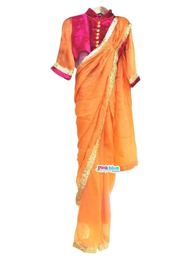 Sari Style Dress