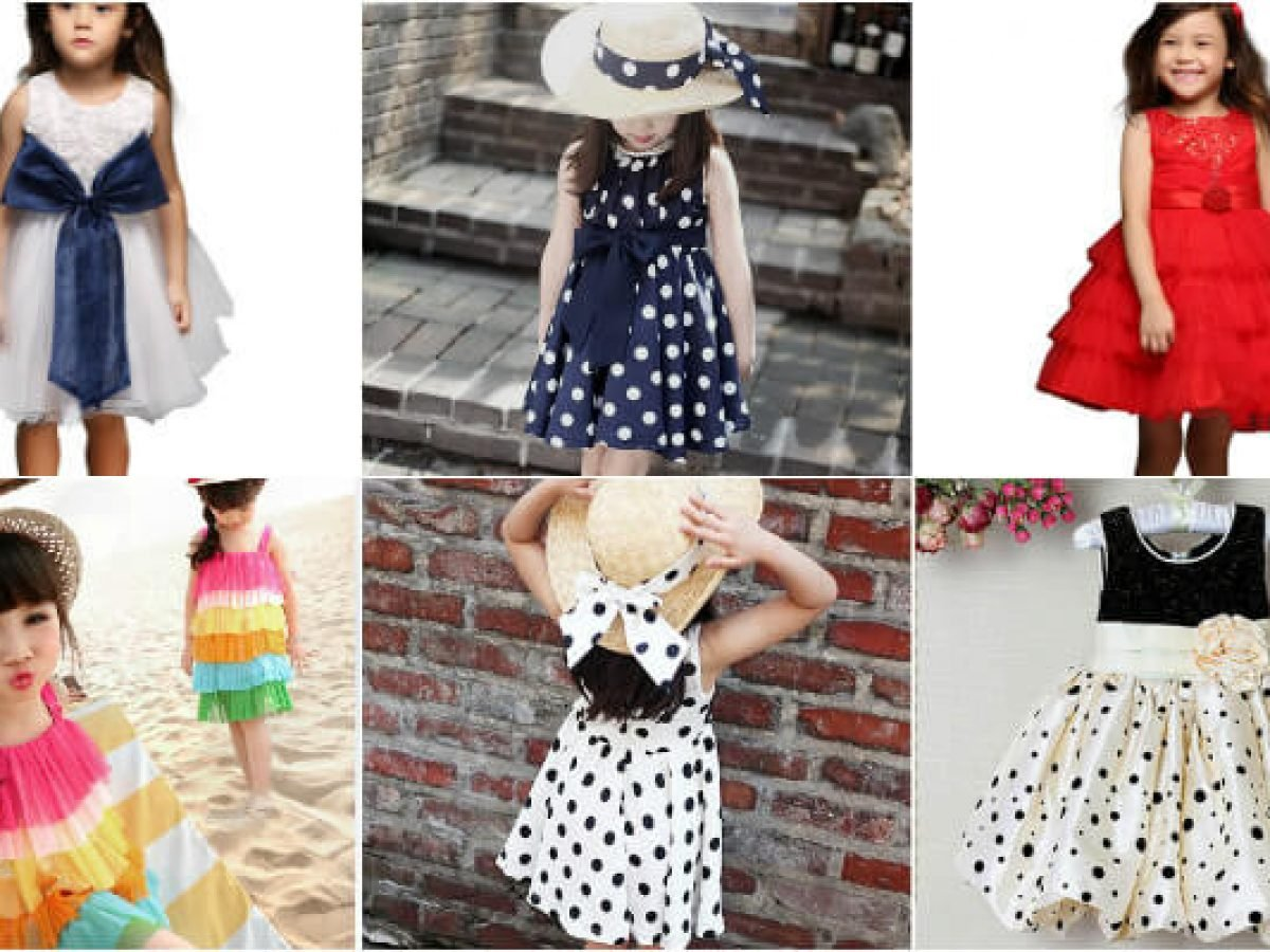 Fashionable 7 Summer Dresses for Baby Girls under 7  Kids