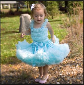 Kids Birthday Pettiskirt Set