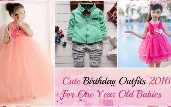 7 Cutest Smashing Birthday Outfits 2016 For One Year Old Babies