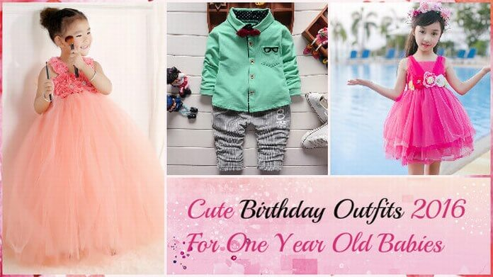 Birthday Outfits For Babies
