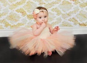 Cute First Birthday Tutu Dress