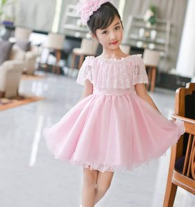 Pink Party dress for First Birthday