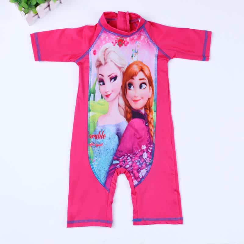 Baby girl Frozen Elsa Swimsuit