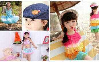 Fashionable Trendy Summer Holiday Dresses for Kids