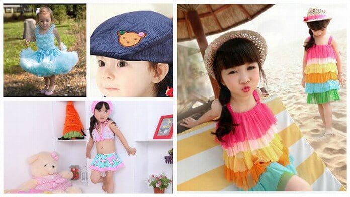 Kids summer holiday dresses