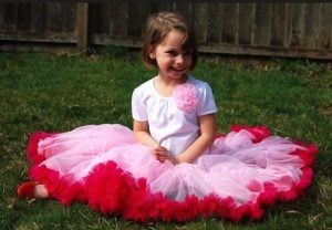 Kids Pettiskirt Tutu Dress