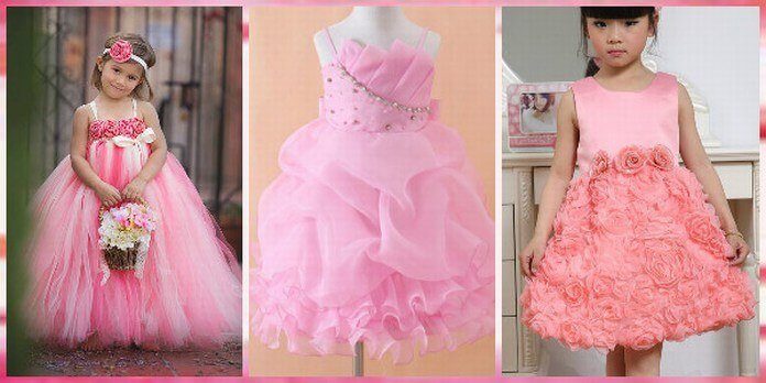 Pink Baby Party Dresses