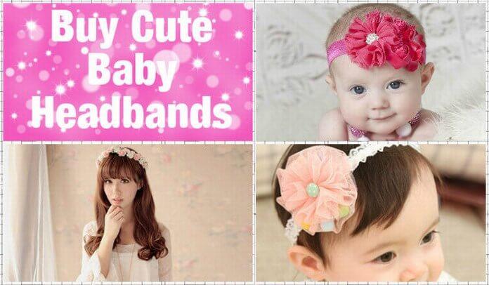 Cute Headbands for Newborn Babies