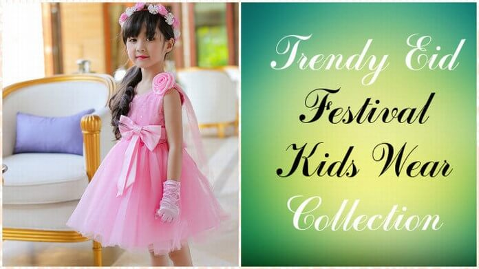Eid Festival Collection of Kids Wear