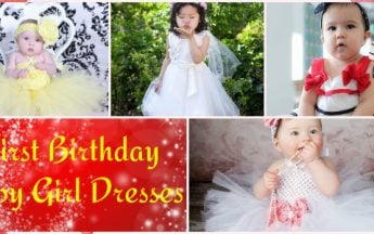 10 Most Attractive First Birthday Baby Girl Dresses for All Seasons