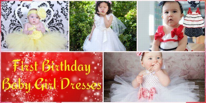 First Birthday Baby Girl Dresses
