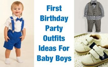 First Birthday Party Outfits For Baby Boys