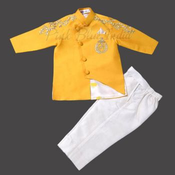 Kids Indian Ethnic Wear Jacket, First Birthday party Dress