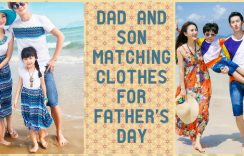 Vibrant Dad and Son Matching Clothes for Father's Day