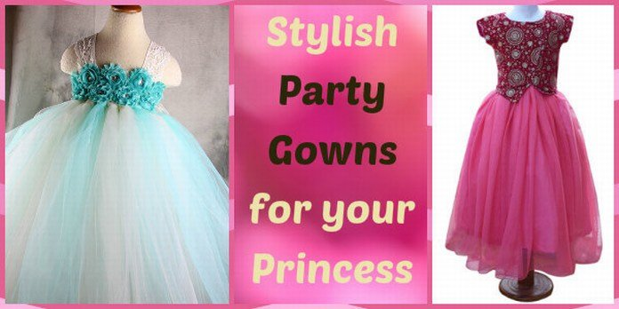 Baby Party Wear Gowns