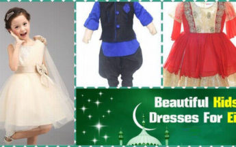 Stylish and Beautiful Kids Dresses For Eid 2017 in India