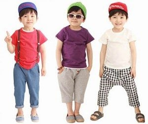Tees and Shorts for Kids