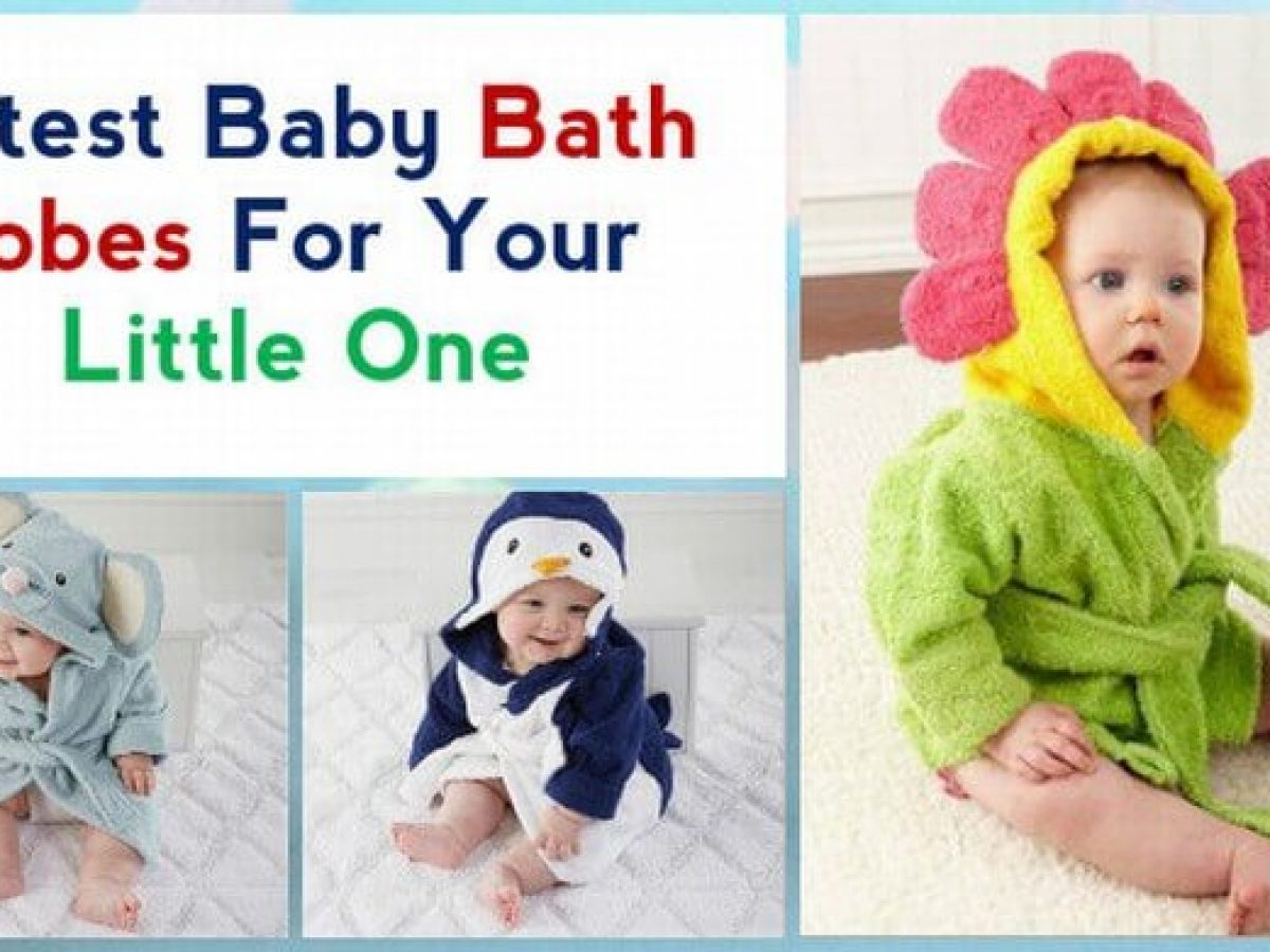Cutest Baby Bathrobes For Your Little One Kids Bathing Robe Online India