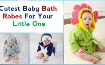 Cutest Baby Bath Robes For Your Little One | Kids Bathing Robe Online India