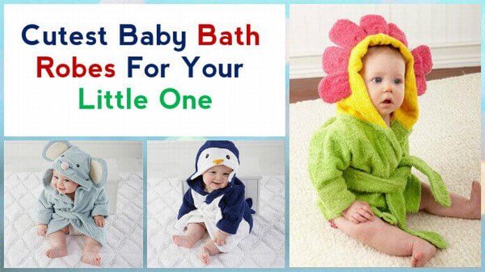 Cutest Baby Bathrobes