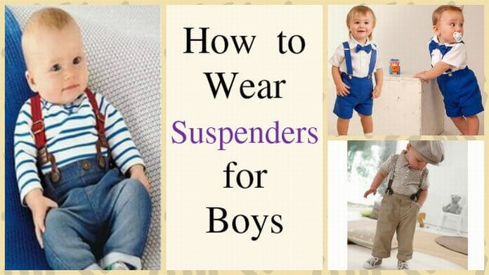 Suspenders for Baby Boys