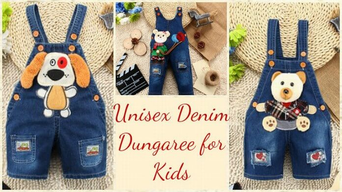 Denim Dungaree for Kids in India