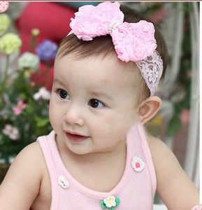 Beautiful Pink Baby Headbands Online India  05e55ff6fdf