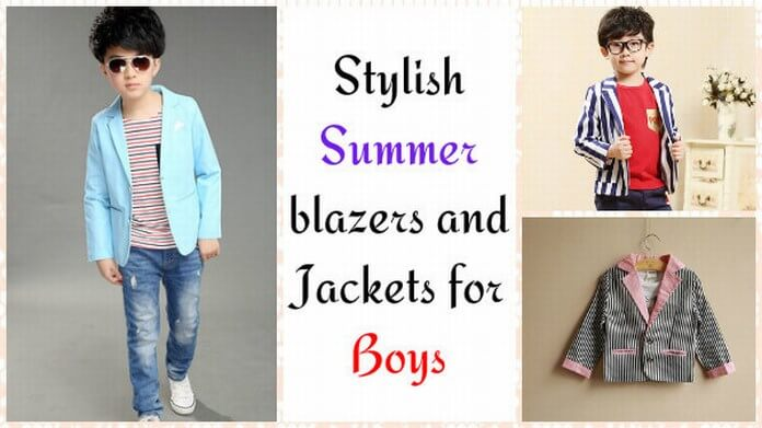 Summer blazers for Boys Children