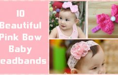 Beautiful Pink Baby Headbands Online In India | Baby Flower Headbands