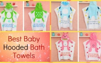 5 Best and Softest Baby Hooded Bath Towels in India | Kids Online Shopping