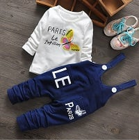 Blue Baby Girl Jumpsuit India