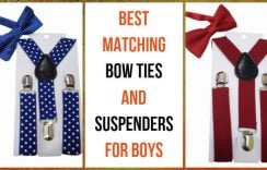 5 Best Matching Bow Ties and Suspenders for Boy's Fashion – Kids Outfit Ideas