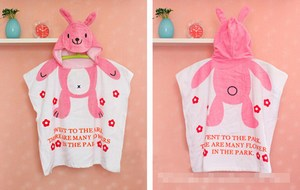 Bunny Baby Bath Cotton Towel