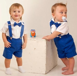 Suspender Outfits for Baby Boys