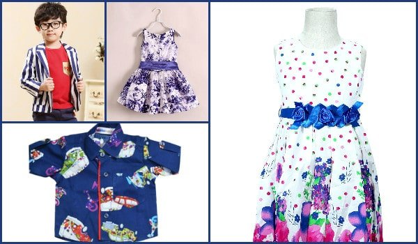 Rakhi festival Colorful baby and Kids Dresses