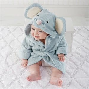 Toddler Elephant Bathrobe for Boys