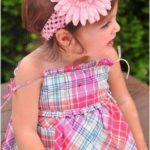 Newborn Baby Girl Flower Headband