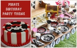 1st Birthday Party Pirate Theme