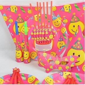 Smiley Birthday Party Theme