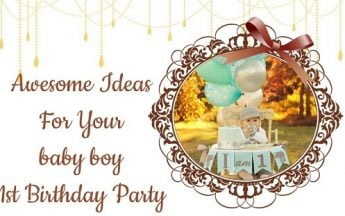 11 Awesome Ideas For Your baby boy 1st Birthday Party