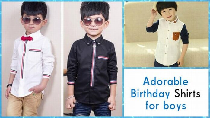 5 Adorable Birthday Shirts For Boys From PinkBlueIndia