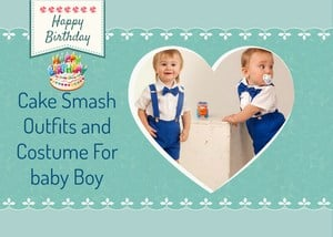 Cake Smash Outfits for Baby boy