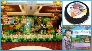 Chhota Bheem Party Theme for Kids boy