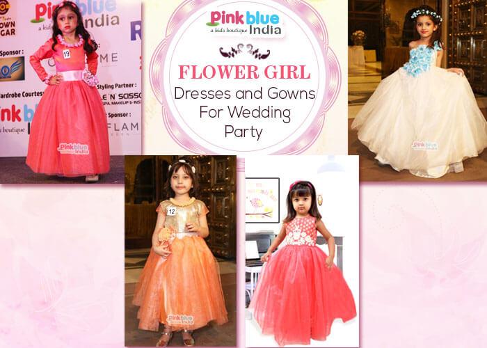 Indian Wedding Flower Girl Dresses