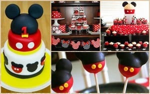 Mickey Mouse Birthday Theme For Baby Boy