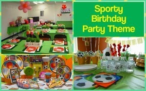 Sporty Theme For First Birthday Party Boys