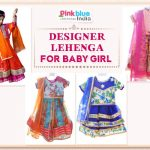 Designer Lehenga for Baby Girl