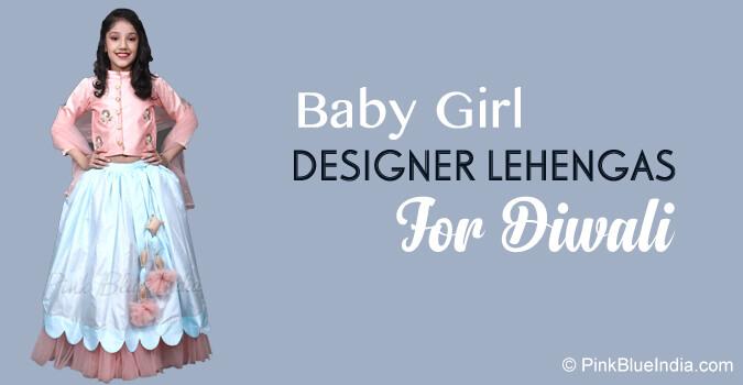 Baby Girl Designer Lehenga Diwali